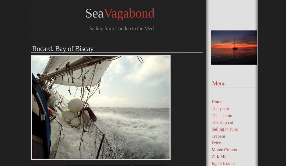 Sea Vagabond. Sailing from the UK to the Med